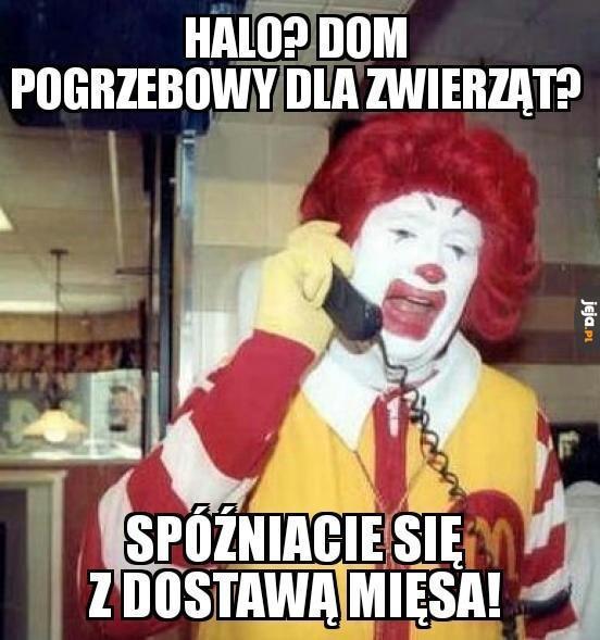 Z tej strony Ronald McDonald