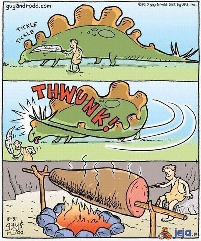 Polowanie na dinozaura