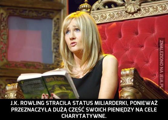 J.K. Rowling to spoko babka