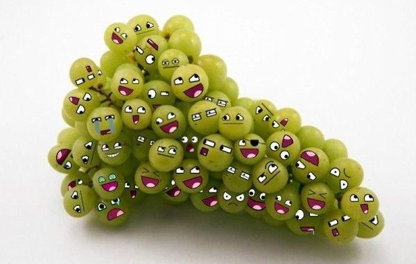 Wesołe winogrona