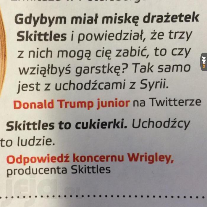 Skittlesy - miszczowie ciętej riposty
