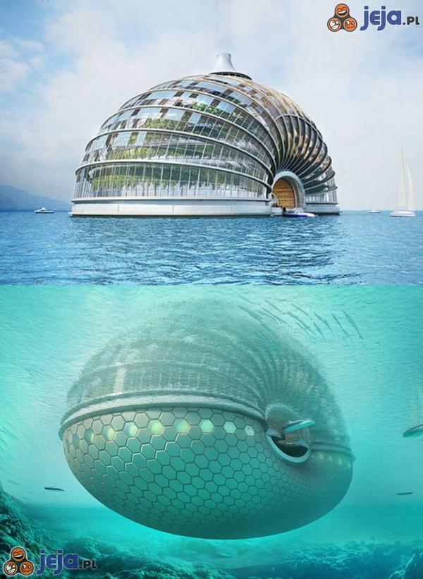 Projektowany hotel w Chinach
