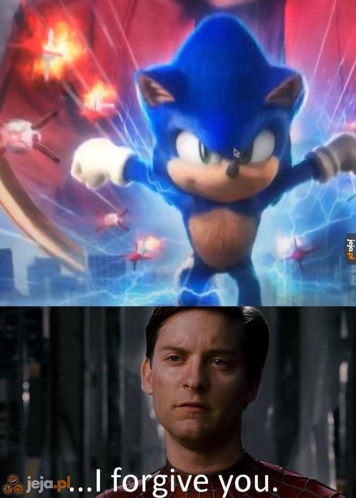Naprawili filmowego Sonica