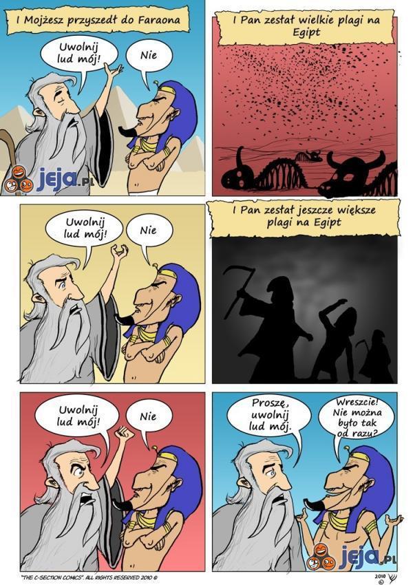 Mojżesz poznaje magiczne słowo