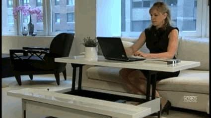 Pomysłowy stolik