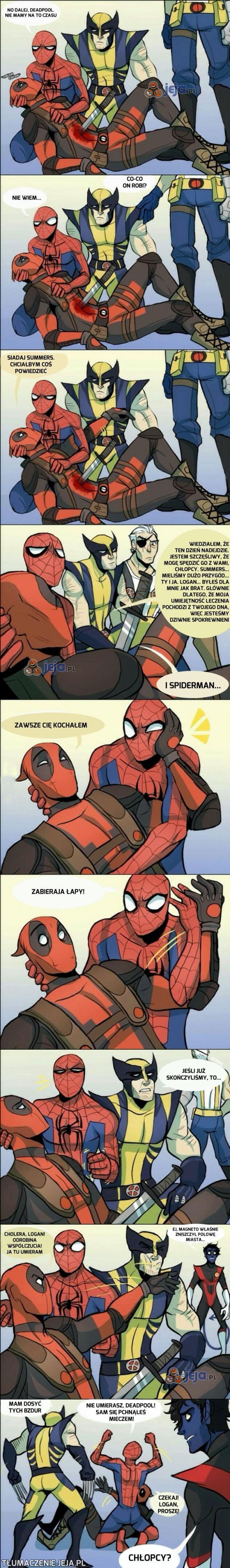 Deadpool po prostu chce być kochany