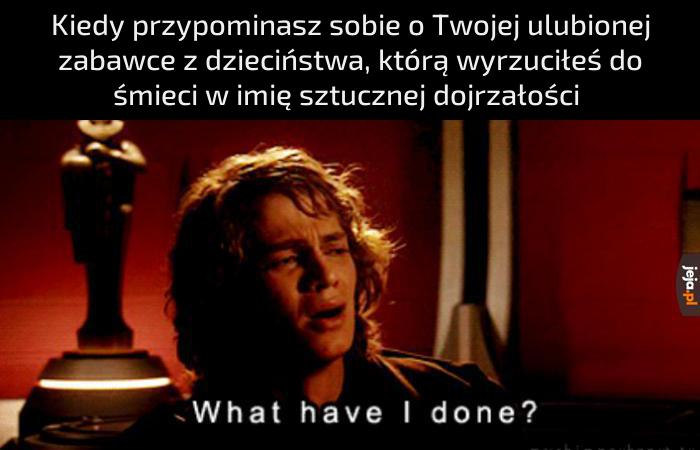 No i po co mi to było?