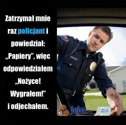Wyzwanie policjanta