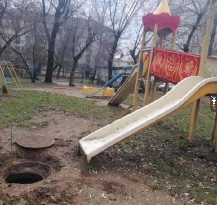 Rosyjskie place zabaw takie są