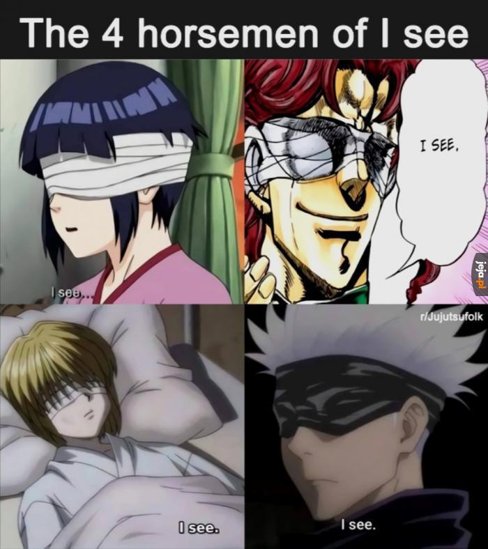 Czterech jeźdźców widzenia na ślepo