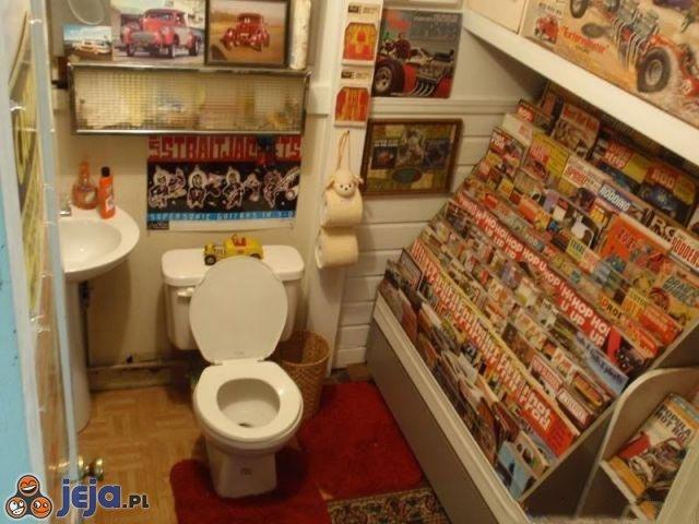 Komfortowa toaleta