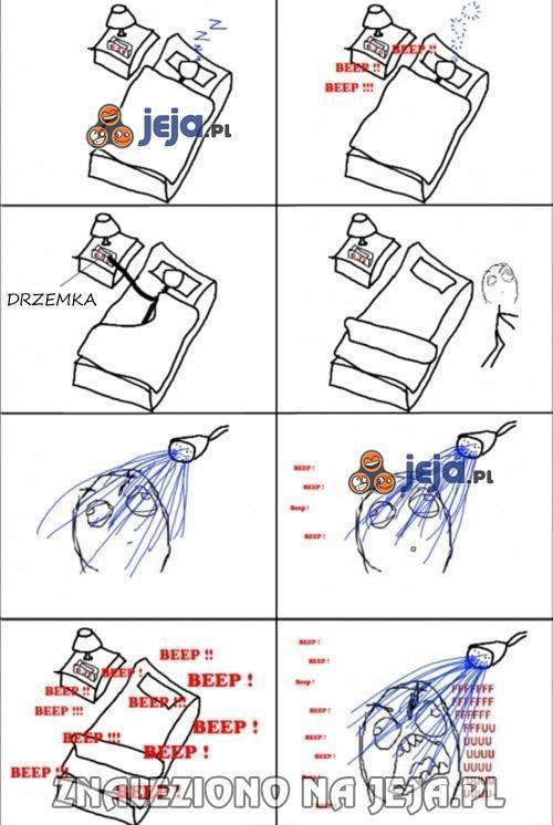 Tryb drzemki w budziku