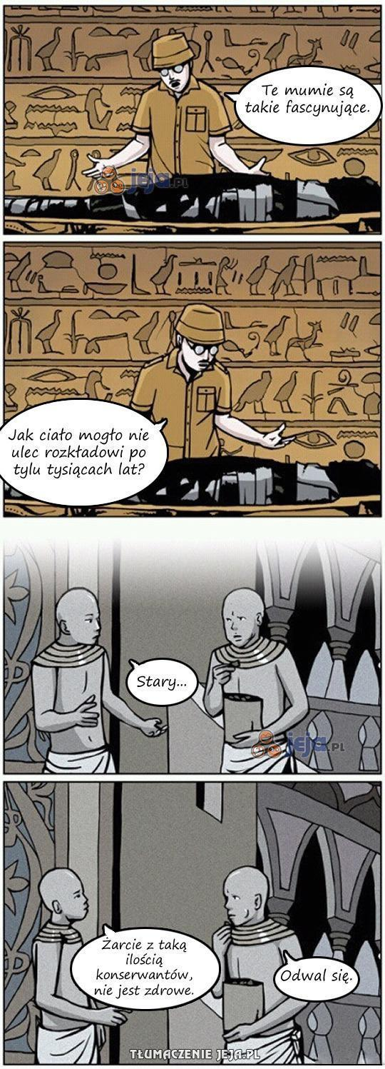 Sekrety mumii