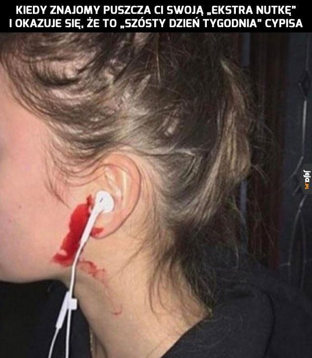 Kontuzja uszu