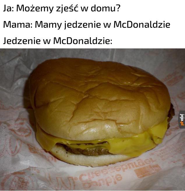 Tytuł jest w McDonaldzie
