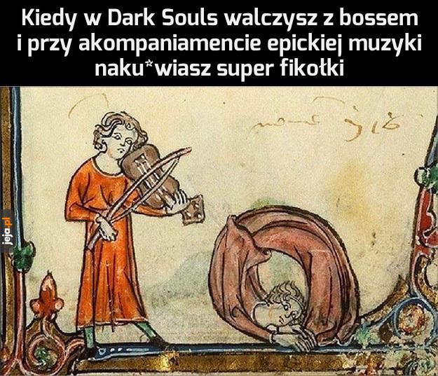 Ale kozak walka!