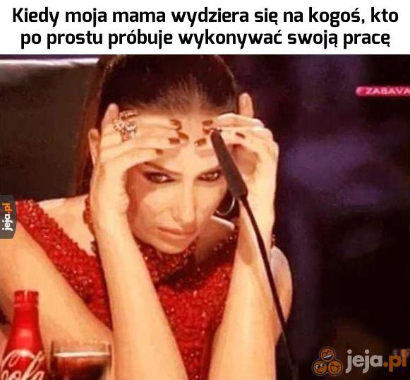 Mamo, błagam...
