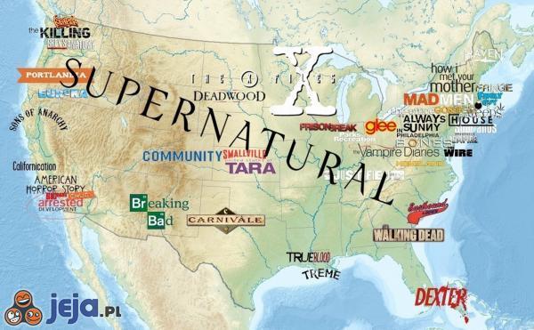 Gdzie mają miejsce Wasze ulubione seriale