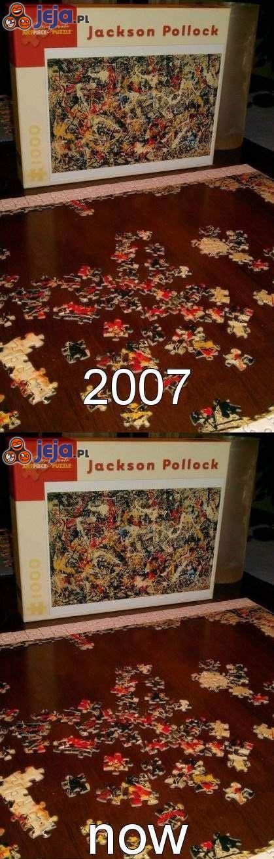 """Jak Ci idą te trudne puzzle?"""