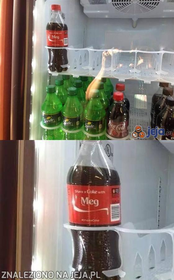 Biedna samotna butelka