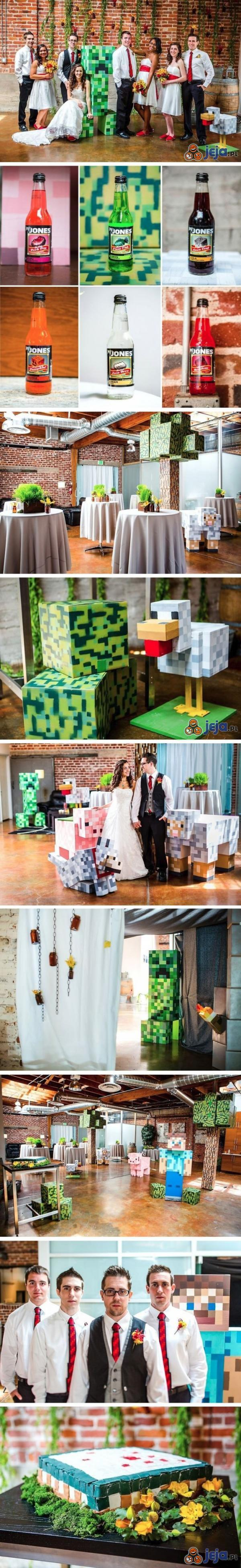 Minecraftowe wesele