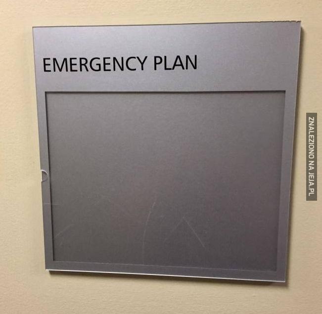 Mój plan awaryjny na życie