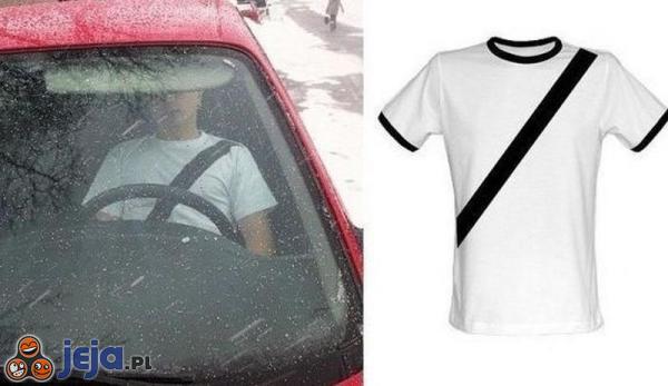 Koszulka chroniąca przed mandatami