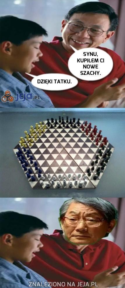 Nowe szachy dla syna