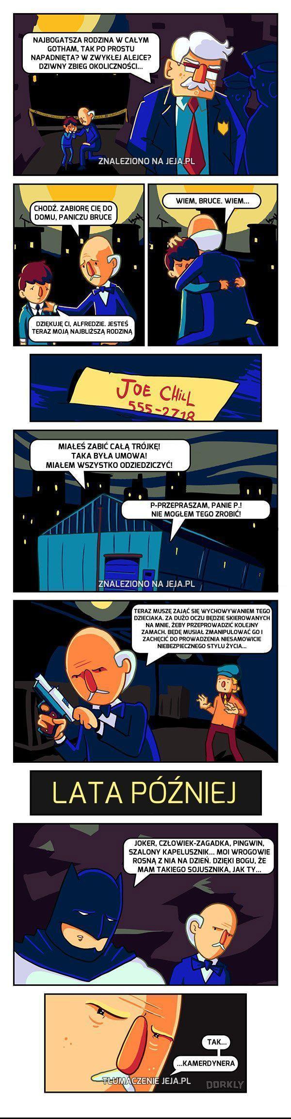 Prawdziwa historia Batmana