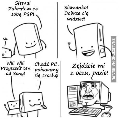 Jak wyobrażam sobie graczy PC