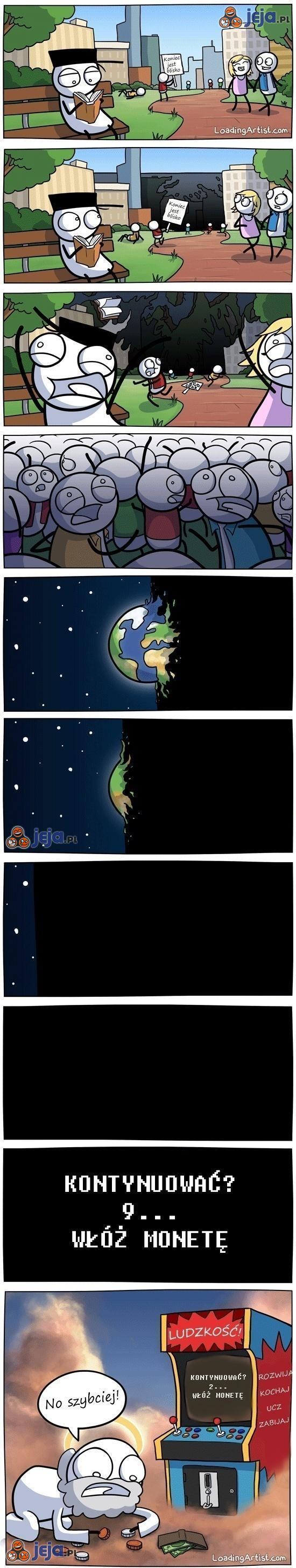 Koniec świata - koniec gry