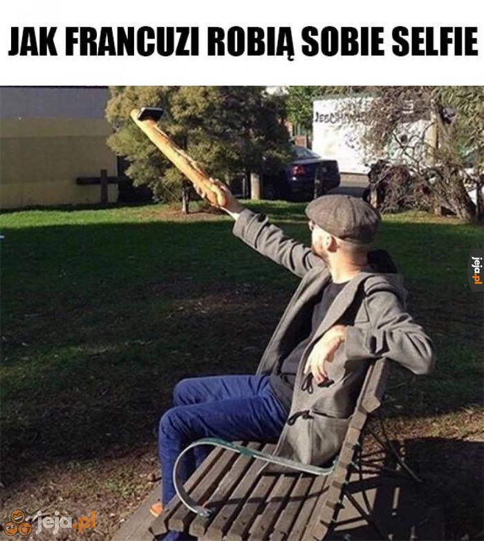 Francuskie selfie