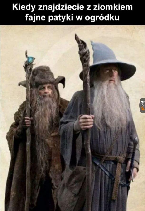 Patrz Mati, jestem Gandalfem