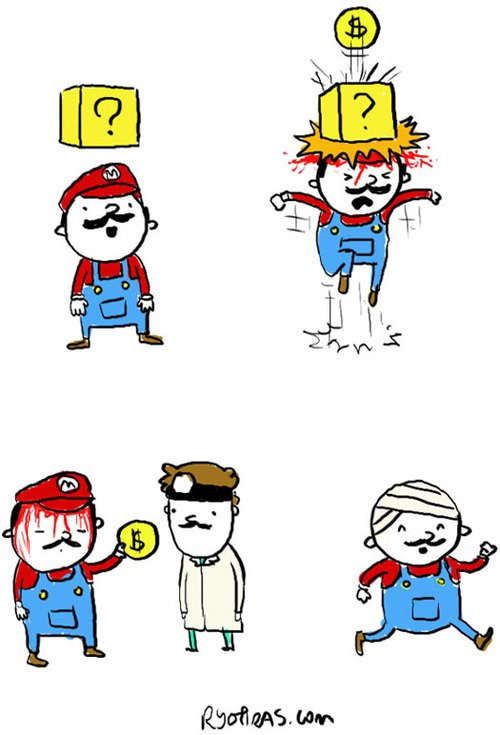 Głupiutki Mario