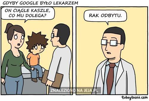 Tu doktor Google, umiera pan!