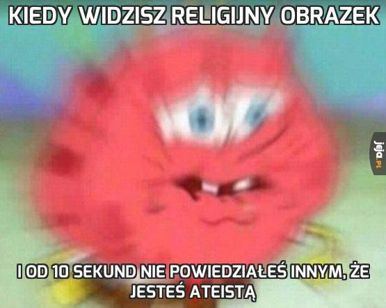Kiedy widzisz religijny obrazek
