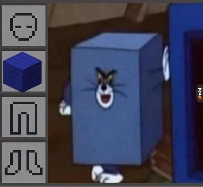 Kiedy Minecraft wejdzie za mocno