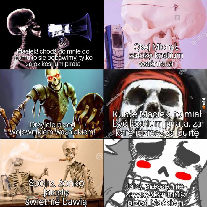 Zabawa szkieletów