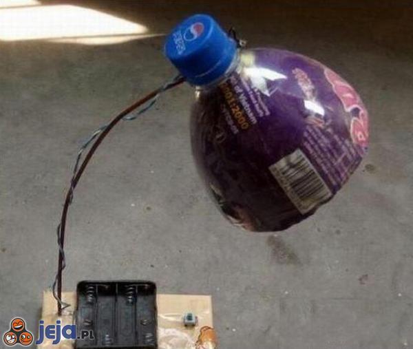 Zrób to sam: Lampka na baterie!