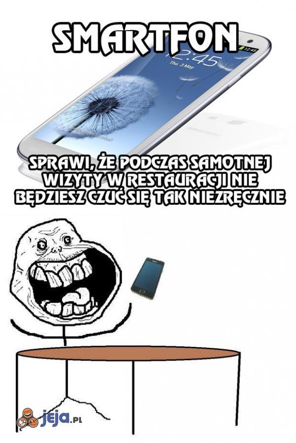 Smartfon nigdy Cię nie zdradzi...