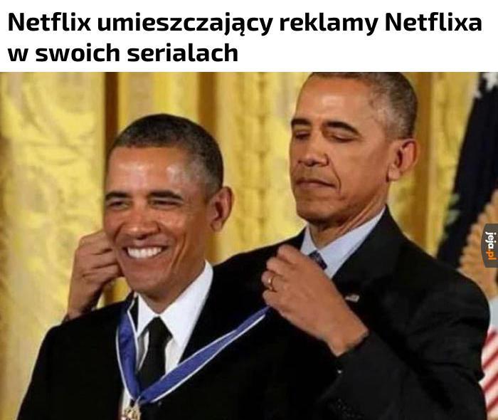 Tytuł ogląda Netflixa