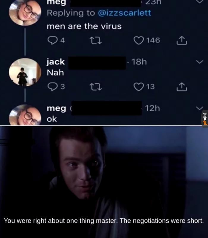 Krótkie negocjacje