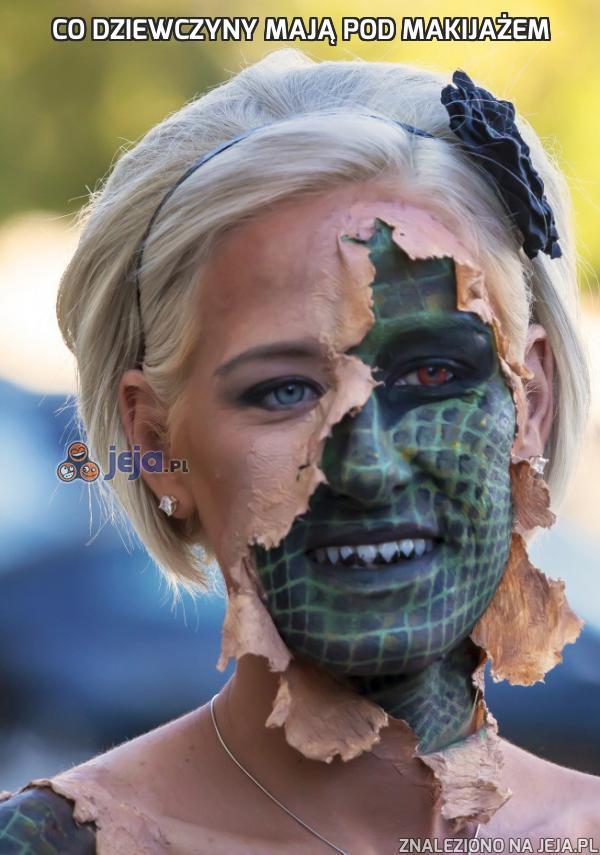 Co dziewczyny mają pod makijażem
