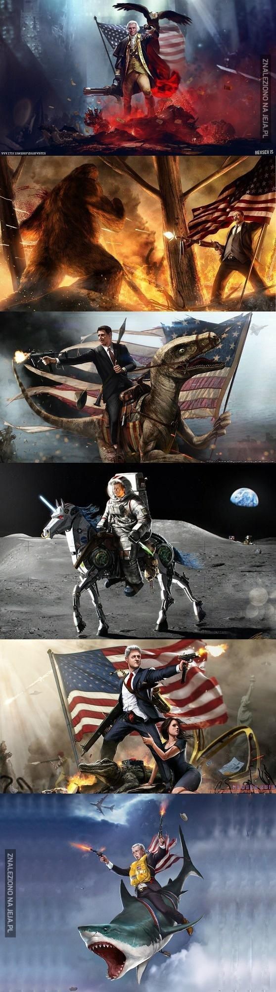 Wygooglowałem amerykańskich prezydentów...