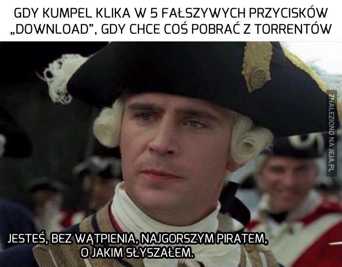 Ty śmiesz się zwać piratem?