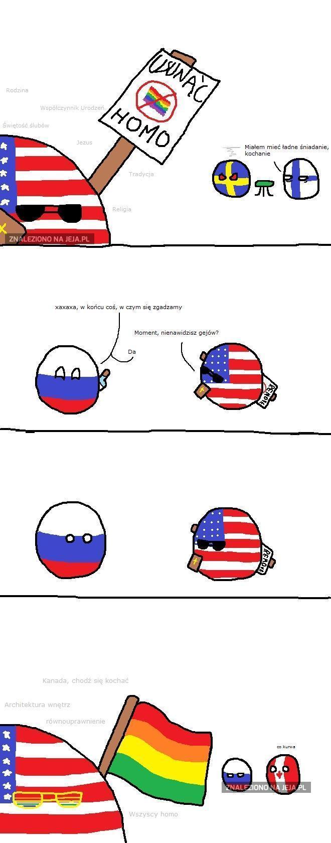 Ameryka i zmiana poglądów