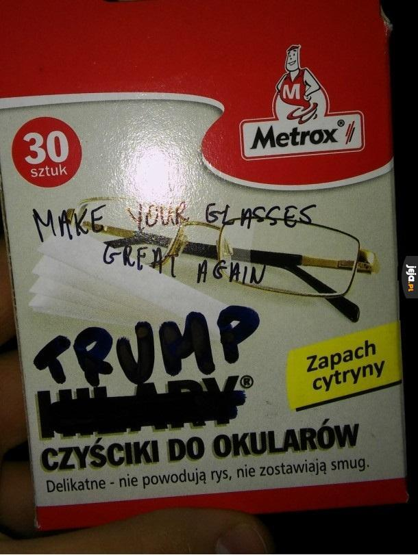 Make your glasses great again!