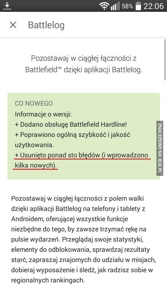 Aktualizacja do Battleloga...