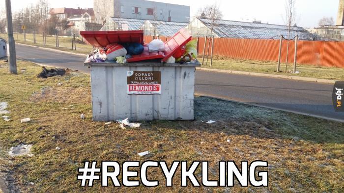 Miejsce na zielone odpady