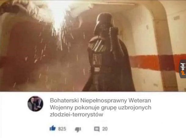 Vader to spoko ziomek był